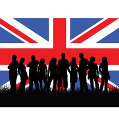 British youth vector