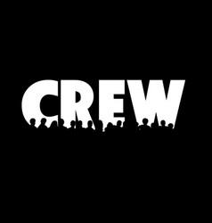 Crew vector
