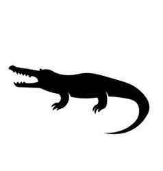 crocodile icon vector image