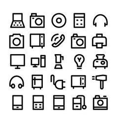 Electronics Icons 1 vector