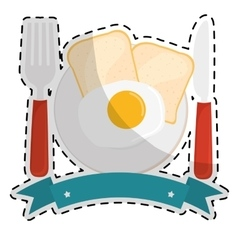 Healthy eating icon image vector