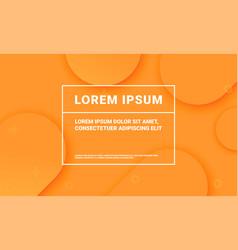 minimal orange background for presentation vector image