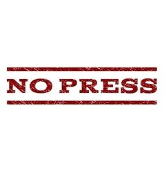 No press watermark stamp vector