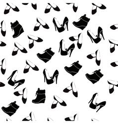 realistic ladies shoe vector image