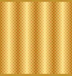 Shiny gradient gold seamless striped valentine vector