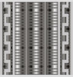 striped 3d greek seamless pattern geometric vector image
