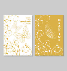 modern templates for brochure vector image