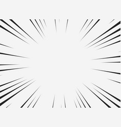 abstract comic line of copy space with white vector image