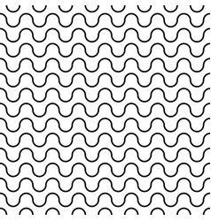 abstract seamless pattern from waves vector image