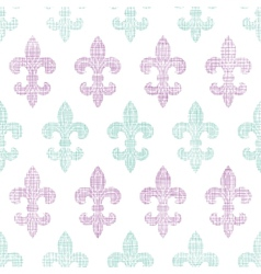 abstract textile fleur de lis stripes seamless vector image