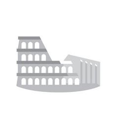 Colosseum coliseum aka flavian amphitheater vector