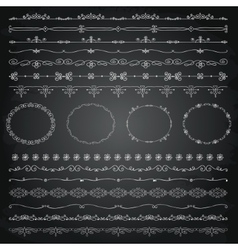 Hand Drawn Borders and Frames vector