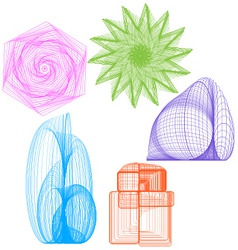 Mesh objects vector