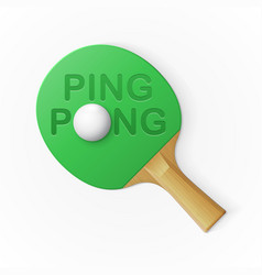 ping pong background vector image