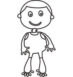Simple child design vector