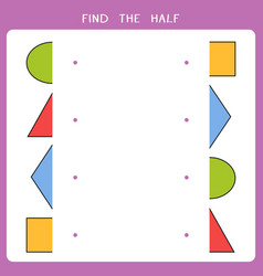 simple educational game for kids vector image