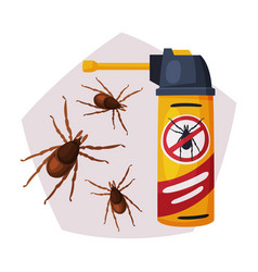 Sprayer bottle mite or tick insecticide pest vector