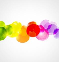 Watercolor Border vector image vector image