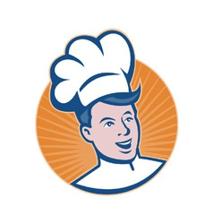 Chef cook baker vector