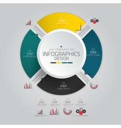 infographics design 10 vector image