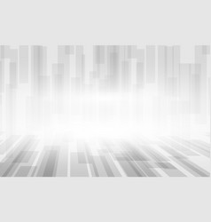 abstract white and grey squares perspective vector image