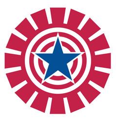 american star decorative symbol logo sign icon vector image