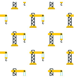 crane pattern flat vector image vector image