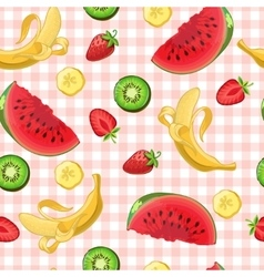 Delicious Fruits Pattern vector