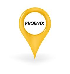Location Phoenix vector