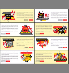 Only one day fantastic offer reduction of price vector