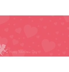 Romance theme for valentine backgrounds vector image