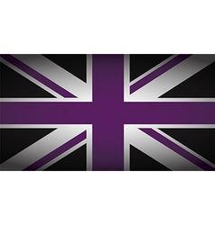 Uk purple and black vector