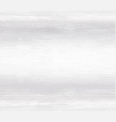 light gray striped grunge background vector image vector image