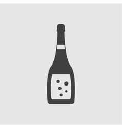 Champagne icon vector image