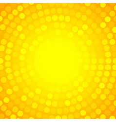 Abstract Orange Circular Technology Background vector image vector image