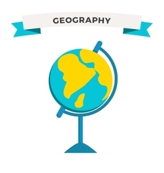 World Globe Earth school education icon vector image vector image