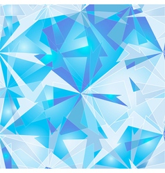 Abstract polygonal background ice vector