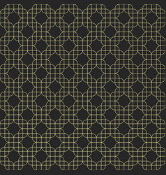 abstract seamless pattern geometric wallpaper vector image