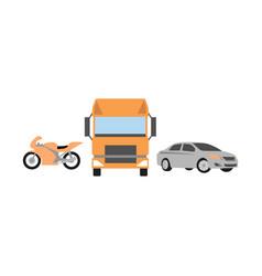 car logo set collection mascot transportation auto vector image