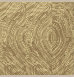 cross section of tree stump background texture vector image