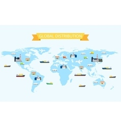 International distribution vector