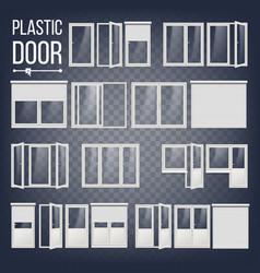 Plastic door plastic door frame energy vector