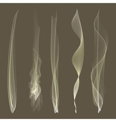 Smoke background steam isgenerated liquidolated vector