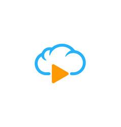 video weather and season logo icon design vector image