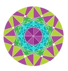 Mandala isolated on white background vector image