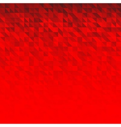 Abstract Red Geometric Technology Background vector image