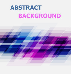 abstract blue and pink geometric overlapping vector image