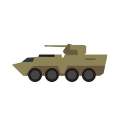 Armored Personnel Carrier vector image