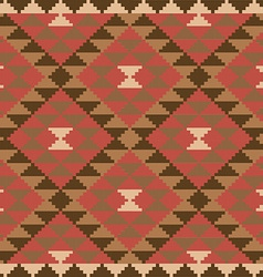 Ethnic carpet design vector