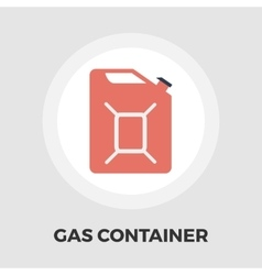 Gas Containers flat icon vector image